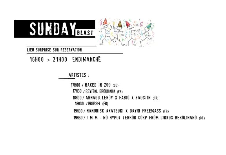 LINE UP dimanche OK-01